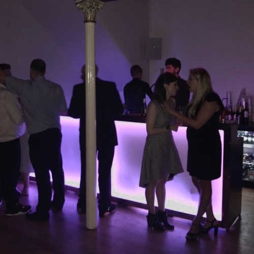 LED Wedding Cash Bar